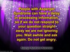 Asperger's syndrome is the mildest form of autism and includes higher functioning. Here are some of the common symptoms associated with Asperger's Syndrome. Sensory Diet, Sensory Issues, Sensory Toys, Aspergers, Asd, Understanding Autism, High Functioning Autism, Adhd And Autism, Sensory Processing Disorder