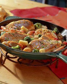 Home-Style Chicken Dinner Recipe