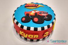 Blaze Birthday Cake, Thomas Birthday Cakes, Monster Truck Birthday Cake, Baby Boy Birthday Cake, 4th Birthday Cakes, Torta Blaze, Bolo Blaze, Blaze Cakes, Blaze And The Monster Machines Cake