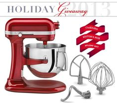 Win a KitchenAid 7-Quart Stand Mixer Holiday Giveaway from The Kitchn | The Kitchn Find out how you can easily acquire the best kitchen stand mixer for your kitchen at http://www.smallappliancesforkitchen.net