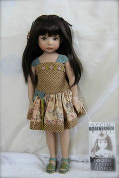 """13"""" Little Darling 'THE Original Isabelle Brown' Painted BY Dianna Effner 