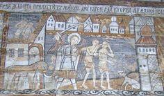 Biserica de lemn din Ieud Deal - Alungarea din rai