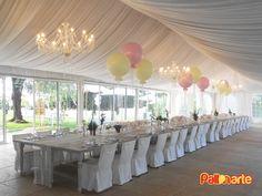 imperial table wedding big balloons tavolo imperiale palloncini mesa imperial boda casamiento globos grandes