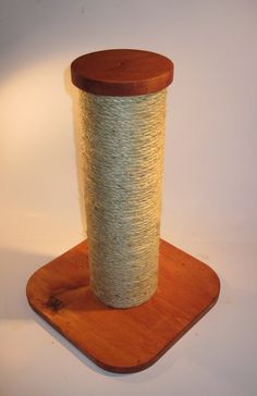 15 sisal rope cat scratching post by MrFinnsScratchPost on Etsy