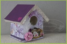 Vogelhuisje+gemaakt+van+een+melkpak.  Stap+voor+stap+foto's.