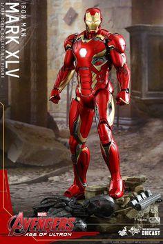 The Avengers 2 Iron Man Mark 45 Hot Toys Figure Revealed - Cosmic Book News