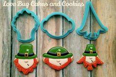 Love Bug Cakes & Cookies:  St. Patrick's day.   Leprechauns.