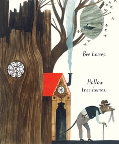 "An Illustrated Celebration of the Many Things Home Can Mean | ""Home,"" by @Caroline Fellis Carson Ellis #illustration #books"