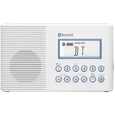 Sangean - Portable FM/MW Radio - White, H202