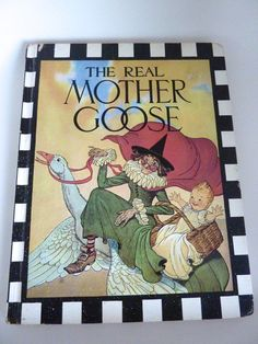 Real Mother Goose Book by BonniesVintageAttic