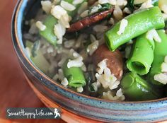 Farm Share Veggie Stir Fry with Brown Rice