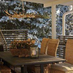 #terassilla#marraskuussa#terassi#poronsarvi#poronsarvivalaisin Outdoor Chairs, Outdoor Furniture, Outdoor Decor, Instagram Widget, Projects To Try, Display, Inspiration, Home Decor, Floor Space