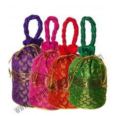 Designer Mango Potli Bag - mehendi favours possibly!