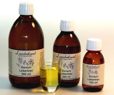 Lunderland-Dorschlebertran 90 ml Vitamin A, Packaging, Wine, Drinks, Bottle, Food, Cod Liver Oil, Losing Hair, Metabolism