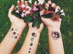 Yin Yang Tattoos With Names Tatto Design, Henna Tattoo Designs, Lotus Design, Mandala Design, Koi, Ying Yang, Yin Yang Tattoos, Name Tattoos, Tattoos With Meaning