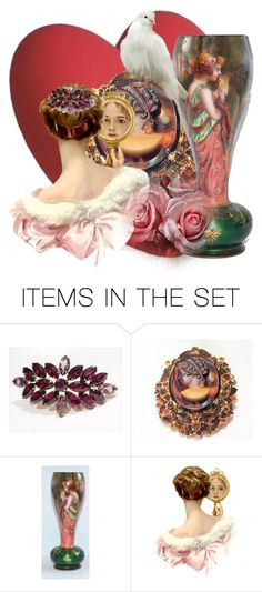 First,  Love Yourself by pattysporcelainetc on Polyvore featuring art and vintage