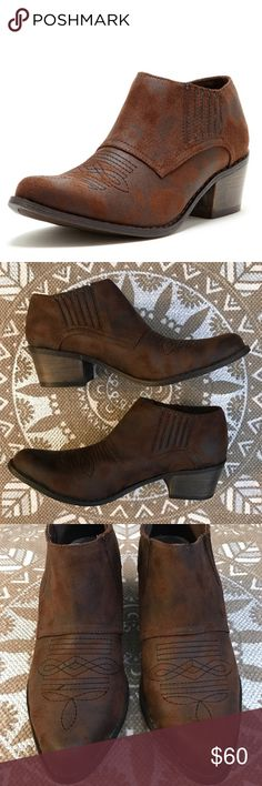 ⭐️ matisse coconuts western andy booties • excellent/new condition, doesn't come with box • size 8.5 • m a k e  an  o f f e r  ⭐️ Matisse Shoes