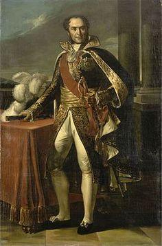 Guillaume Marie-Anne, comte de Brune, maréchal de France (1763-1815) par Eugène Battaille d'après Marie-Guillemine Benoist, XIXesiècle, château de Versailles. Né le 13 mars 1763 à Brive-la-Gaillarde et mort assassiné le 2 août 1815 à Avignon, est un maréchal d'Empire. Tenu à l'écart des hautes fonctions administratives et militaires par Napoléon Ier en raison de son républicanisme