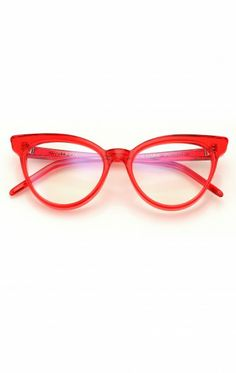 5a32f539062 Le Femme Spec in Candy Red - i want these! Retro Sunglasses