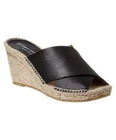 1bb28642309 BETTYE MULLER BETTYE MULLER DIJON LEATHER WEDGE SANDAL.  bettyemuller   shoes