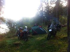 Camping Romania, yamaha tenere 660Z, KTM adventure 1190.