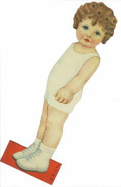 Miss Missy Paper Dolls: Queen Holden