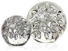 Glass Spheres - Clear modern accessories and decor