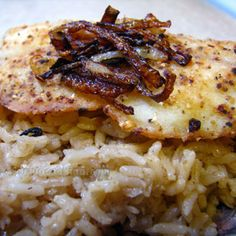 Sayadieh - Syrian Fish with Spiced Rice and Carmelized Onions