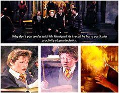 Seamus Finnigan:  Master of Pyrotechnics