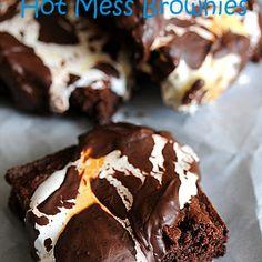 Hot Mess Brownies
