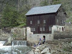 McConells Mills in Slippery Rock, Pa