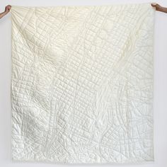 Haptic Lab is reinvigorating the age-old tradition of quilting with its intricate City Quilt Throws. The Brooklyn-based studio hand-stitches roadways, rivers and city blocks onto plush 60' x 72' cotton blankets, resulting in stunning quilts perfect...