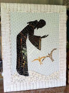 São Francisco de Assis em mosaico