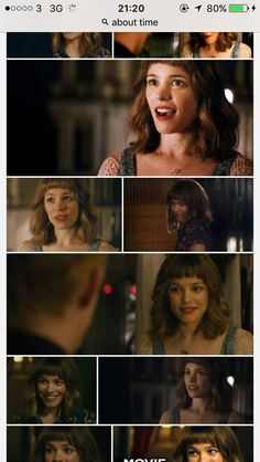 In time- Rachel Mcadams. Love this simple but sweet hairstyle