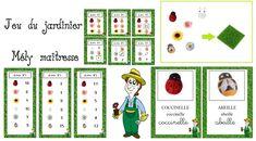 Jeu du jardinier avec 3 niveaux de difficulté Petite Section, Busy Bags, Preschool, Education, Holiday Decor, Blog, Kids, Ms Gs, Date