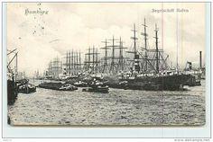 Hamburg - Segelschiff Hafen