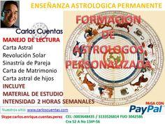 capacitación y formación en astrología