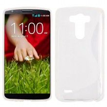 Forro Gel LG G3 Sline Blanca $ 20.300,00