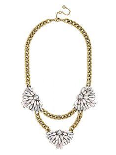 Matte Monarch Bib Necklace | BaubleBar