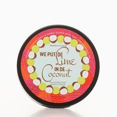 We Put De Lime in De Coconut Body Scrub | Perfectly Posh