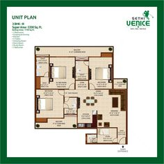 Sethi Venice, Noida Expressway. 3 / 4 BHK Apartments in Noida sector 150  |  Call +91 9958345345 For Bookings / Details