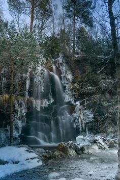 Visit the post for more. Bergen, Norway, Waterfall, Winter, Nature, Outdoor, Winter Time, Outdoors, Rain
