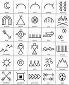 native american symbols and meanings    ideography