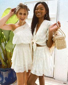 Daisy Lady ❤️ Summer Skirts, Mini Skirts, Daisy, Lady L, Floral Mini Skirt, White Out, Summer Looks, Devon, Elastic Waist