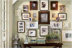Las paredes con fotos son una tendencia en auge que permite decorar por poco dinero, te damos algunas pautas.