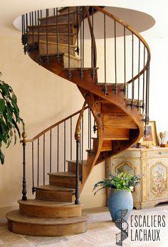 Escalier colima on ancien la brocante de balines decor - Escalier colimacon ancien ...