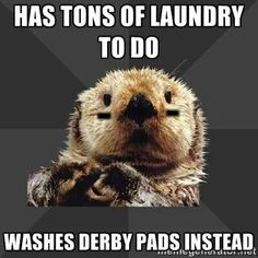 Sorry laundry but my pads stink!