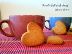 Biscotti alla #Cannella #Veg Senza Burro e Senza uova