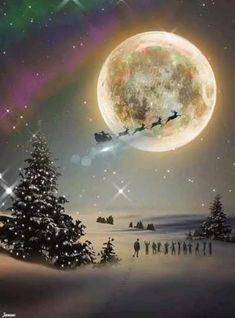 Beautiful Christmas Scenes, Winter Christmas Scenes, Merry Christmas Gif, Merry Christmas Wallpaper, Christmas Scenery, Winter Scenery, Christmas Music, Christmas Greetings, Beautiful Christmas Pictures