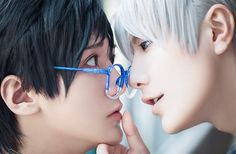 yuri!!! on ice | yoi | viktor nikiforov x katsuki yuuri | victuuri   katsuki yuuri: @moemoehana (ig) viktor nikiforov: @moemoebaozi (ig)